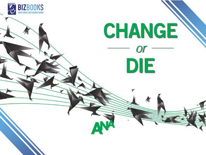"""Cuốn sách """"Thay đổi hay là chết"""" c"""